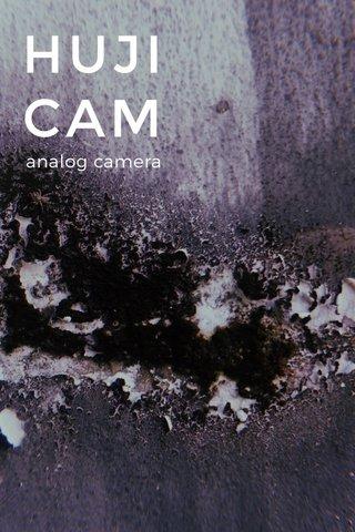 HUJI CAM analog camera