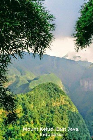 Mount Kelud, East Java, Indonesia