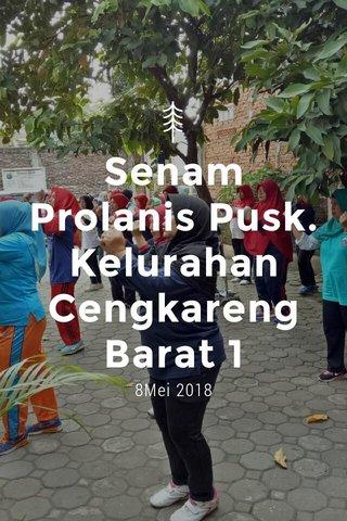 Senam Prolanis Pusk.Kelurahan Cengkareng Barat 1 8Mei 2018