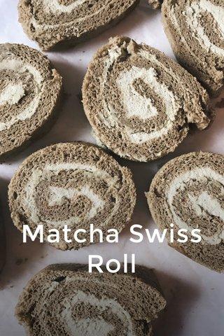 Matcha Swiss Roll