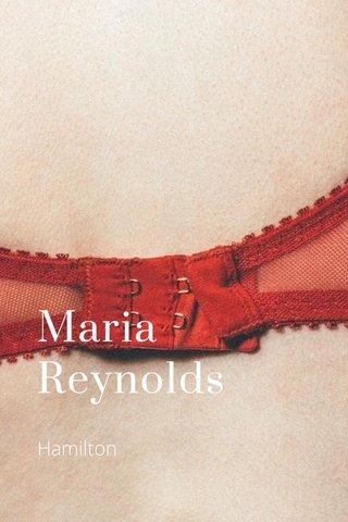 Maria Reynolds Hamilton