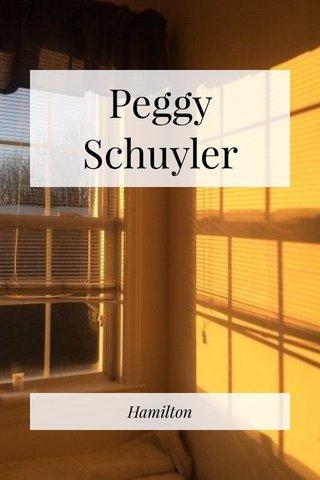 Peggy Schuyler Hamilton