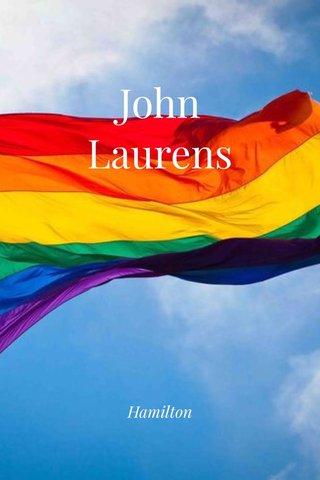 John Laurens Hamilton