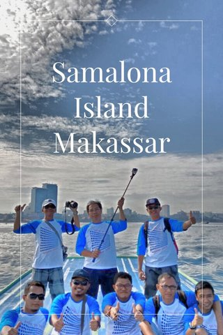 Samalona Island Makassar