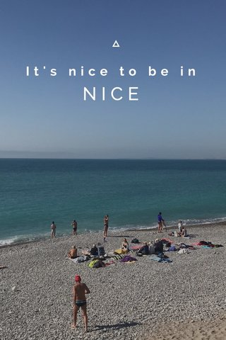 It's nice to be in NICE