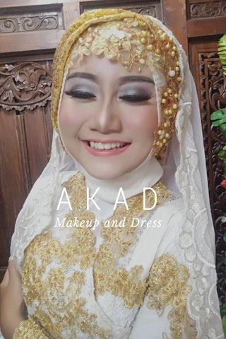 AKAD Makeup and Dress