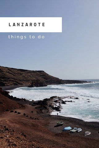 LANZAROTE things to do