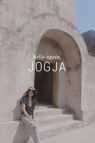 JOGJA hello again,