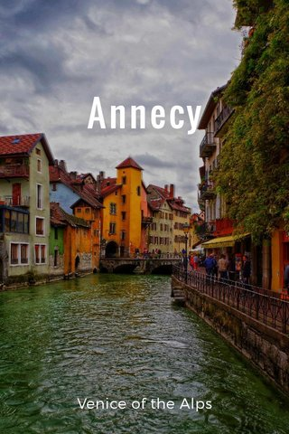 Annecy Venice of the Alps
