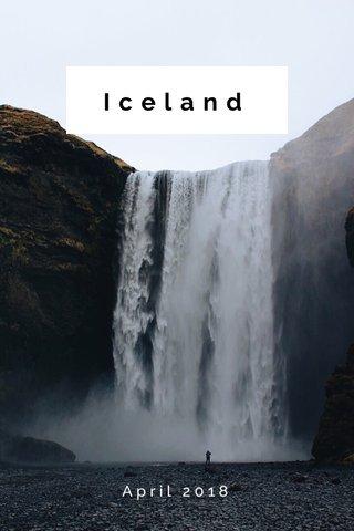 Iceland April 2018