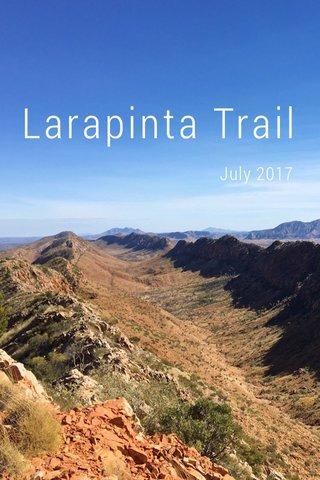 Larapinta Trail July 2017