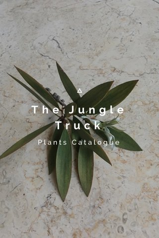 The Jungle Truck Plants Catalogue