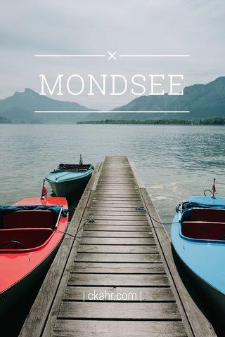 MONDSEE | ckahr.com |