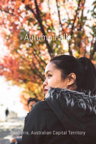 Autumn Falls Canberra, Australian Capital Territory