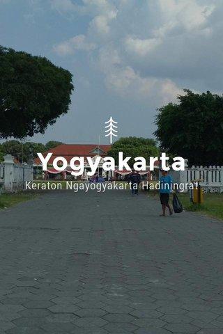 Yogyakarta Keraton Ngayogyakarta Hadiningrat