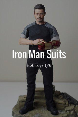 Iron Man Suits Hot Toys 1/6