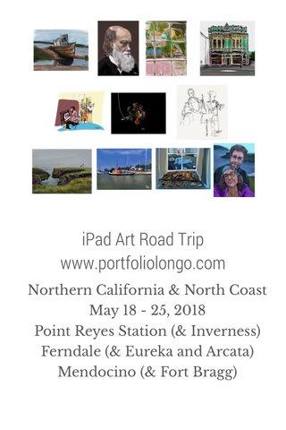 iPad Art Road Trip www.portfoliolongo.com