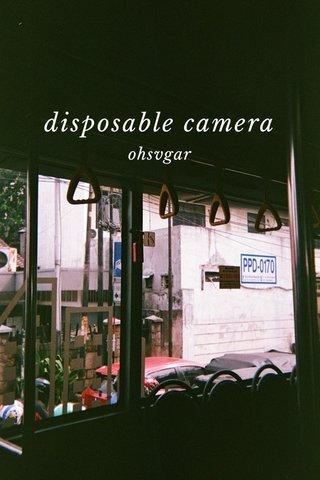 disposable camera ohsvgar