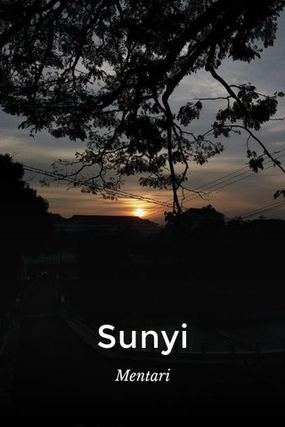 Sunyi Mentari