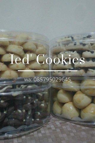 Ied' Cookies wa: 085795029645