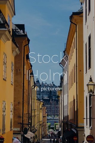Stock Holm In pictures