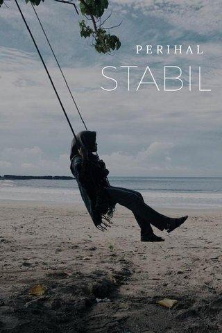 STABIL PERIHAL