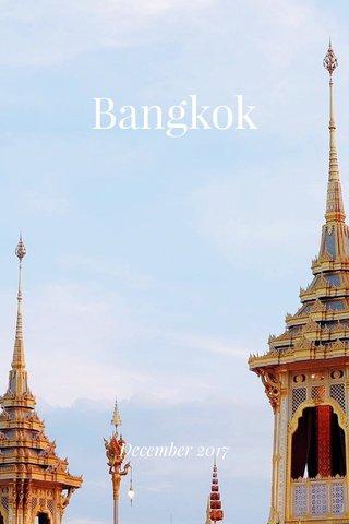 Bangkok December 2017