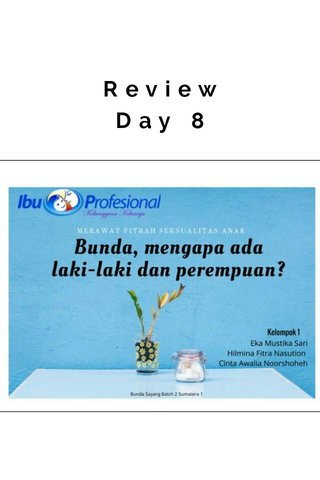 Review Day 8