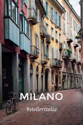 MILANO #stelleritalia