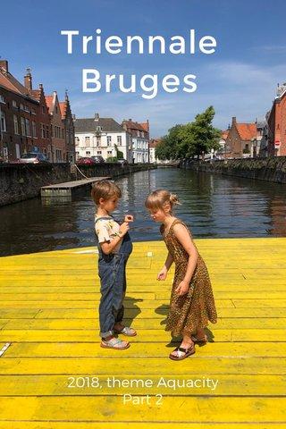 Triennale Bruges 2018, theme Aquacity Part 2