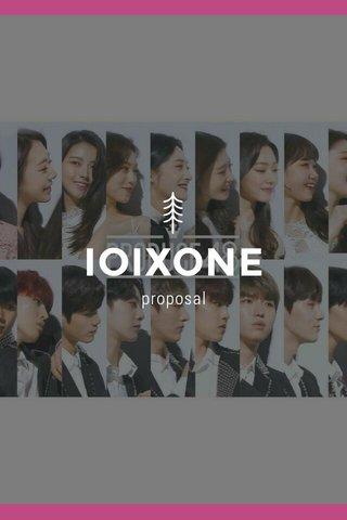 IOIXONE proposal