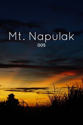 Mt. Napulak 005