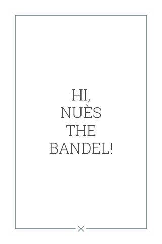 HI, NUÈS THE BANDEL!
