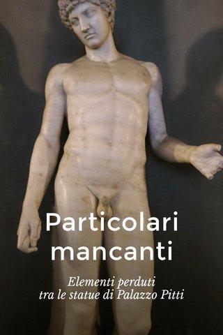 Particolari mancanti Elementi perduti tra le statue di Palazzo Pitti
