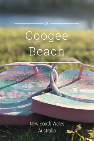 Coogee Beach New South Wales Australia