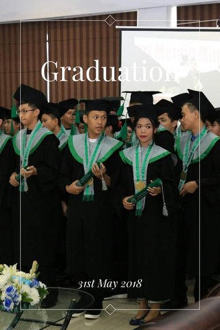 Graduation 31st May 2018