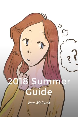 2018 Summer Guide Eva McCord