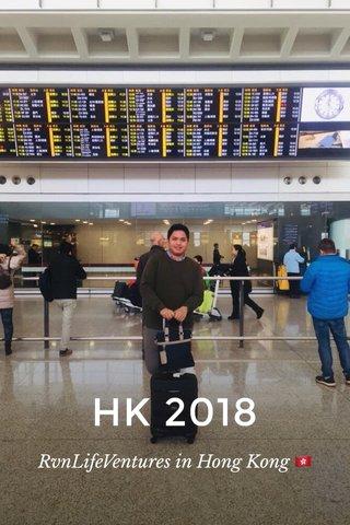 HK 2018 RvnLifeVentures in Hong Kong 🇭🇰