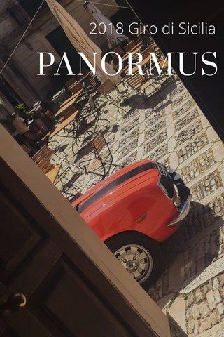 PANORMUS 2018 Giro di Sicilia