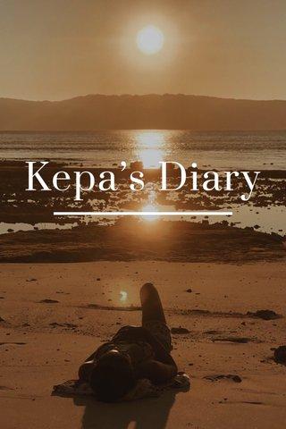 Kepa's Diary