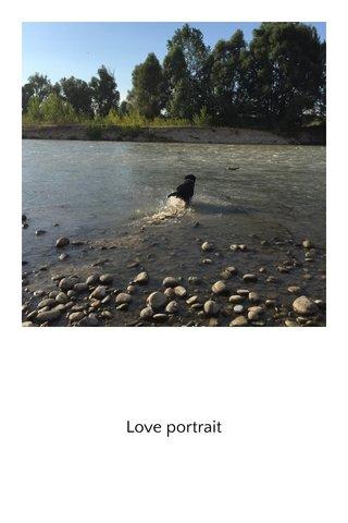 Love portrait