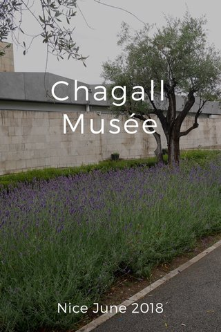 Chagall Musée Nice June 2018