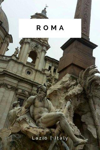 ROMA Lazio | Italy