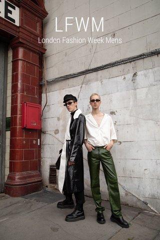 LFWM London Fashion Week Mens