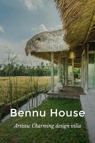 Bennu House Artistic Charming design villa