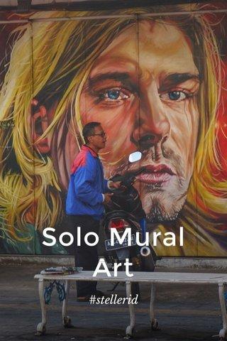 Solo Mural Art #stellerid