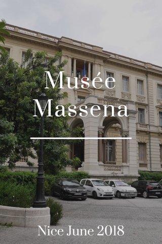 Musée Massena Nice June 2018