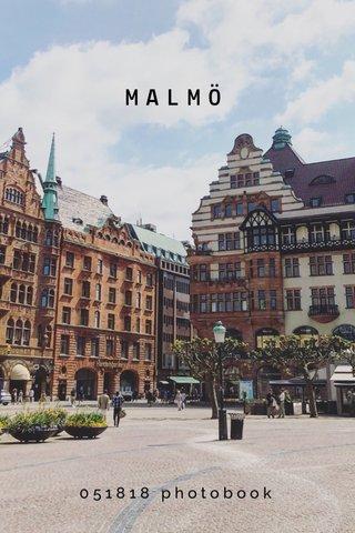 MALMÖ 051818 photobook
