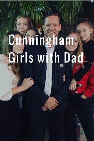 Cunningham Girls with Dad