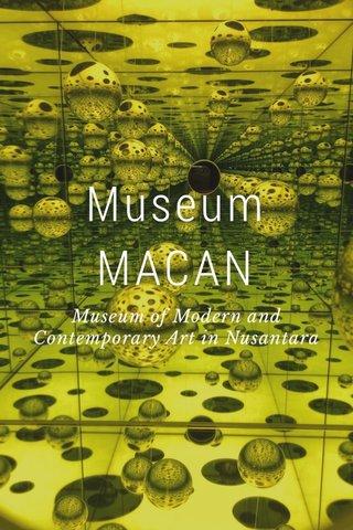 Museum MACAN Museum of Modern and Contemporary Art in Nusantara